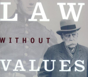 law without values, Albert Alschuer, Anderson Reporting, university of Chicago law